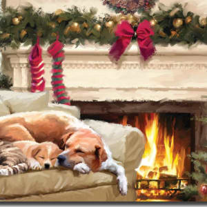 By the Fireside Christmas Cards